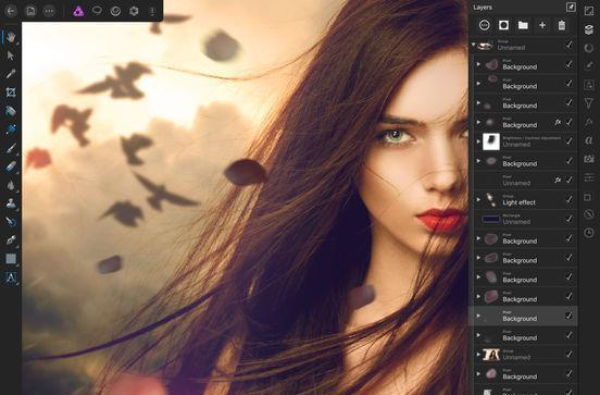Affinity Photo is another powerful editing app for iPad