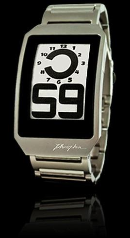 Engadget's recession antidote: win a Phosphor E-Ink watch!