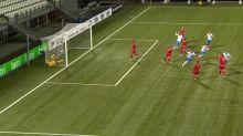 Foot - L. nations - Ligue des nations : les buts de Iles Féroé-Malte en vidéo