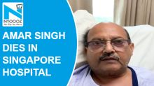SP leader Amar Singh passes away due to kidney failure in Singapore