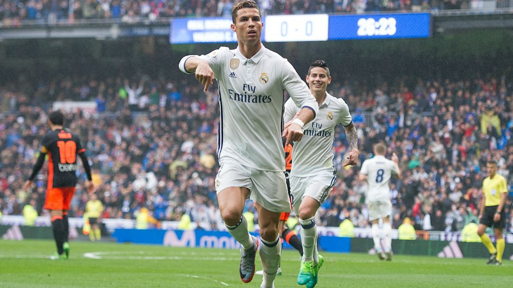 Real Madrid 2 Valencia 1: Marcelo the hero after Ronaldo misses penalty