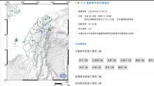 地牛翻身!7:49 花蓮外海地震 宜花地區震度3級
