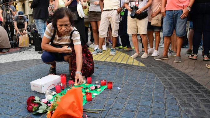 Barcelona attack: Entertainment world pays tribute after terror rocks city killing 13