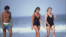 Las fotos en bañador más recordadas de las 'royals'