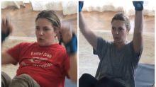 El antes y el después de Drew Barrymore tras su cambio de figura