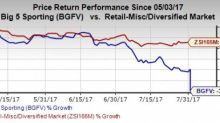 Big 5 Sporting (BGFV) Q2 Earnings Beat, Slumps on Sales Lag