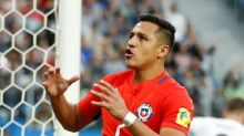 Sanchez named in Chile squad for World Cup games