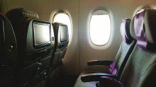 Bequem reisen: Wie man sich im Flugzeug eine leere Reihe sichert