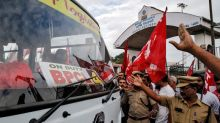 BPCL workers protest over PM Modi's privatisation plans