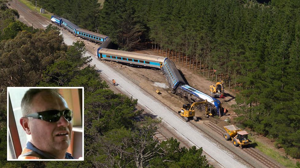 Driver sent troubling email before fatal train derailment
