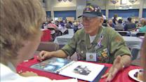 Military veterans share stories with students