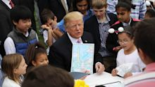 The Annual Easter Egg Roll at Trump's White House Was a Very Weird Scene