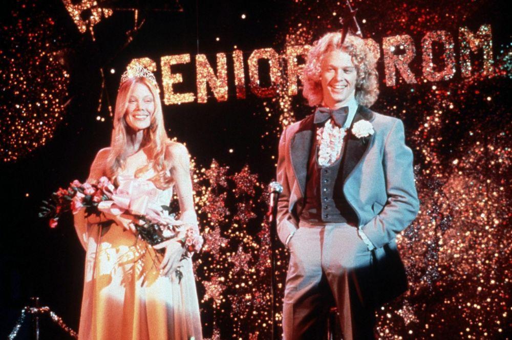 Sissy Spacek and William Katt in 'Carrie'