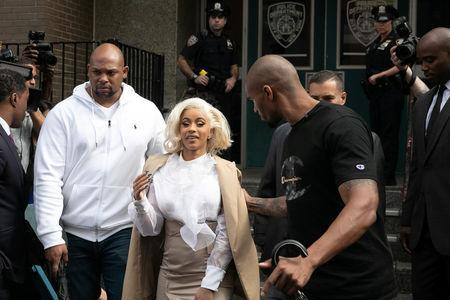 Rapper Cardi B Charged In Connection With Assault In New York
