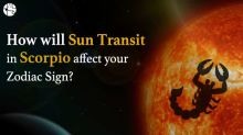 How will Sun transit in Scorpio affect your zodiac sign?