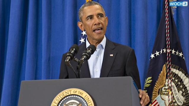 Obama Notifies Congress Of Ordering Air Strikes In Iraq