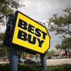 Best Buy sinks, Apple on way to $1T, Facebook's new alert, Netflix passes Disney and Comcast in market value