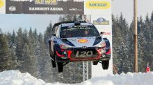 Snow king Neuville wins Rally of Sweden