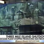 Three Mile Island, site of America's worst nuclear power accident, shuts down