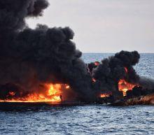 Oil slick off China coast trebles in size
