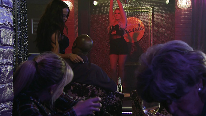 Corrie star wants to learn pole-dancing after story