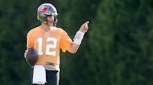 GOAT's day off: How Tom Brady celebrated his 44th birthday at Buccaneers camp