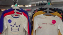 Mum blasts Morrisons over sexist T-shirts for girls