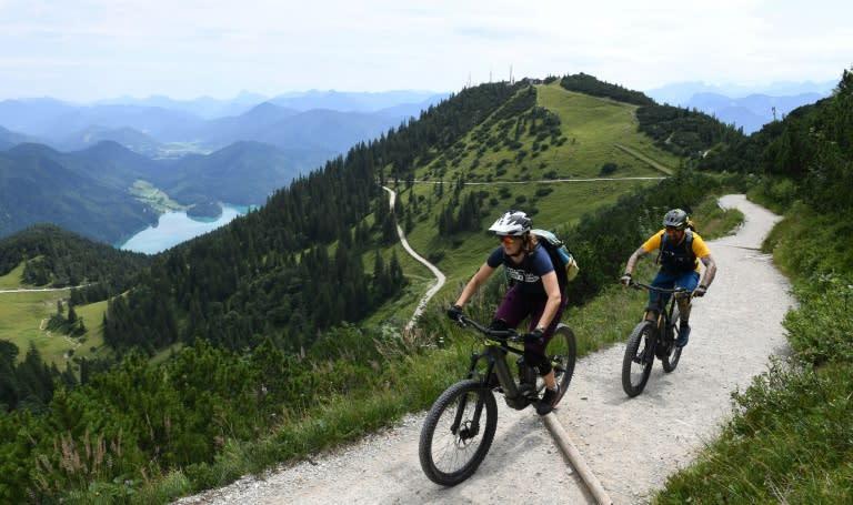 E-bike grumbles echo in the Bavarian Alps