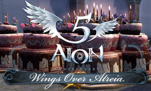 Wings Over Atreia: The spoils of Aion's fifth anniversary