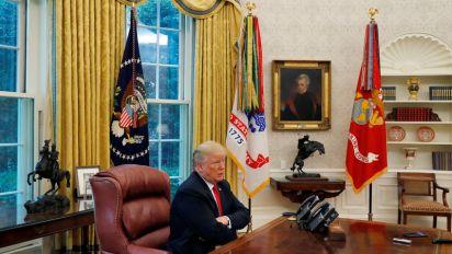 Trump: 'very dangerous' to regulate social content