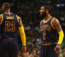 Kyrie Irving Threw Shade at LeBron James and Cavaliers in Icy ESPN First Take Interview