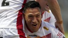 Try and cheers for Folau on Dragons debut