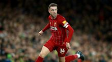 Jordan Henderson faces battle to be fit for Liverpool's Premier League opener