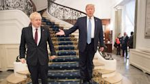 Trump echoes Johnson:  NHS not part of US-UK trade deal