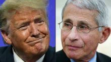 Trump critica dr. Fauci, especialista em covid-19, e sugere que é um 'idiota'