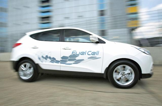Hyundai shifts focus from fuel cell cars to EVs