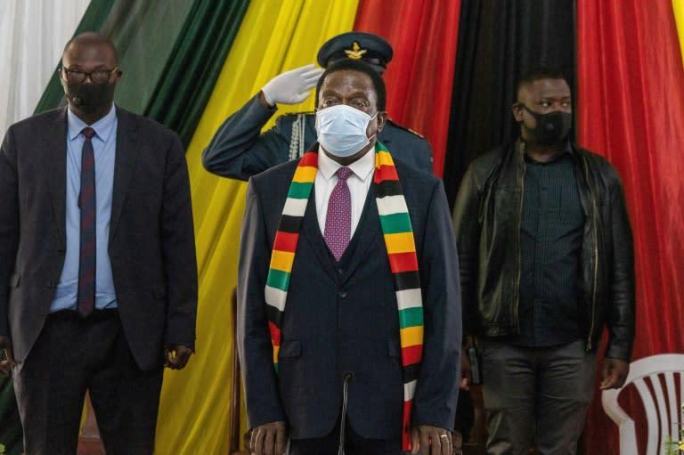 Zimbabwe leader tells UN that sanctions hurt development