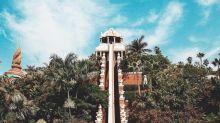 【水上樂園】挑戰心臟必玩 西班牙超垂直滑梯沖落鯊魚池