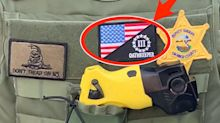 A California cop who wore a far-right patch to a George Floyd protest won't be fired