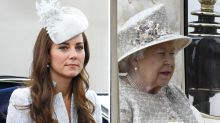Why Duchess Kate and the Queen both look so gloomy in the royal carriage