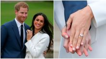 Meghan Markle's engagement ring pays tribute to Princess Diana
