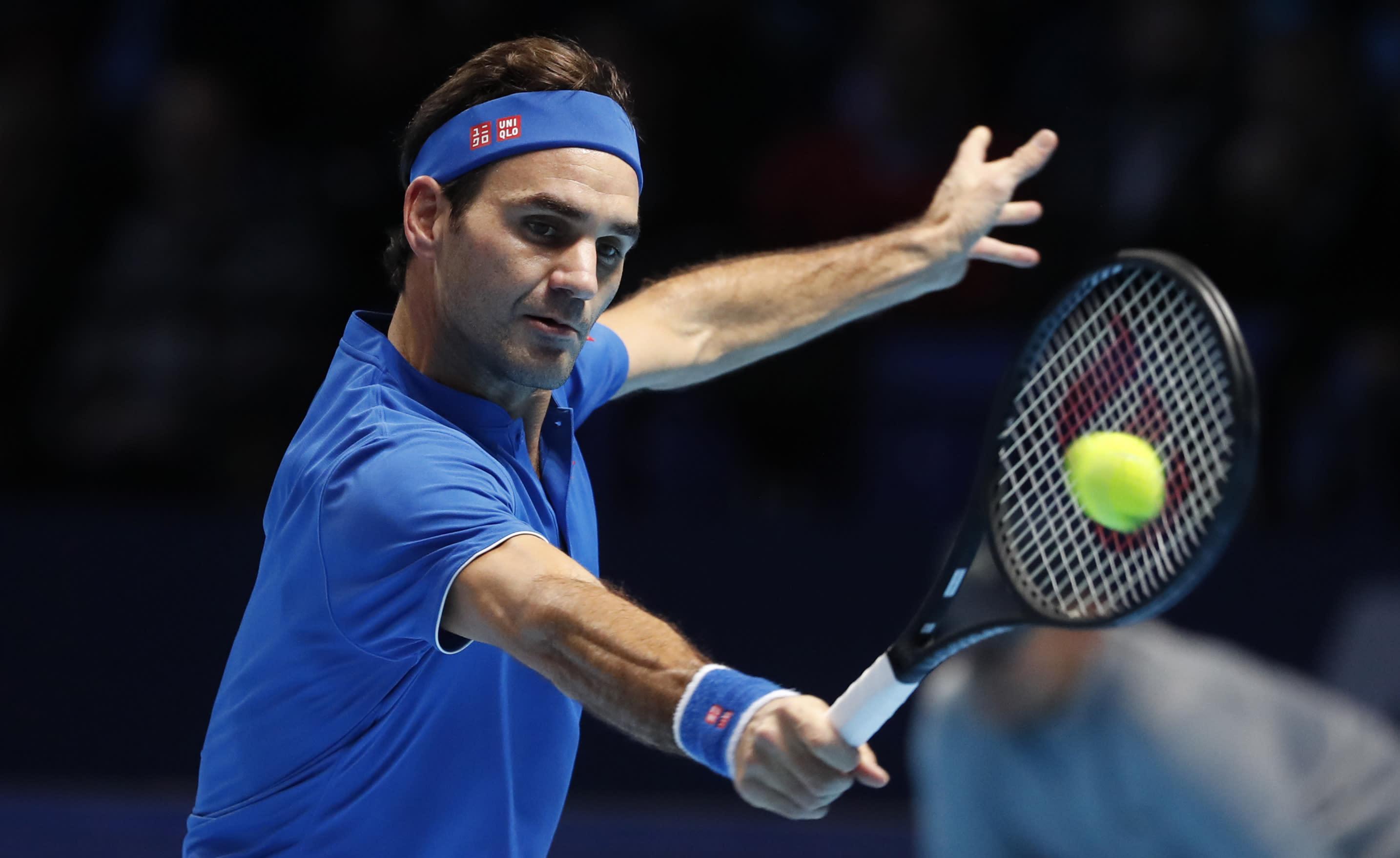 Thiem Federer