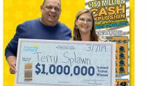This can't be happening': Man buys second $1 million winning lottery ticket at same place