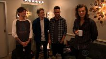 Harry Styles Goes Commando With One Direction on 'Late Late Show'