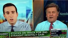 '100,000 people died, Joe, and all you did was try to help your friend the president,' says Sorkin of CNBC co-anchor Kernen
