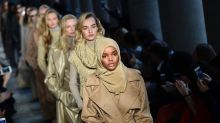 Hijabi Model Halima Aden Shot Her First Ad campaign and It's Bold and Fearless Just Like Her
