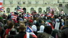 Puerto Rican march in D.C. protests hurricane relief effort