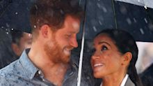 Rain Falls on Prince Harry and Meghan Markle's Tour Moments After Visiting Drought-Stricken Farm