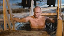 Vladimir Putin Goes Bare-Chested (Again) For 2019 Calendar