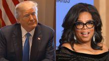 Présidentielle 2020 : Trump se dit convaincu de battre Oprah Winfrey si elle se présentait